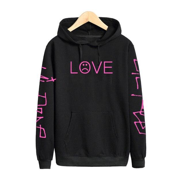 Pkorli Lil Peep Love толстовки мужские женские толстовки с капюшоном пуловер повседневные женские Homme Harajuku модные толстовки Рэппер Толстовка