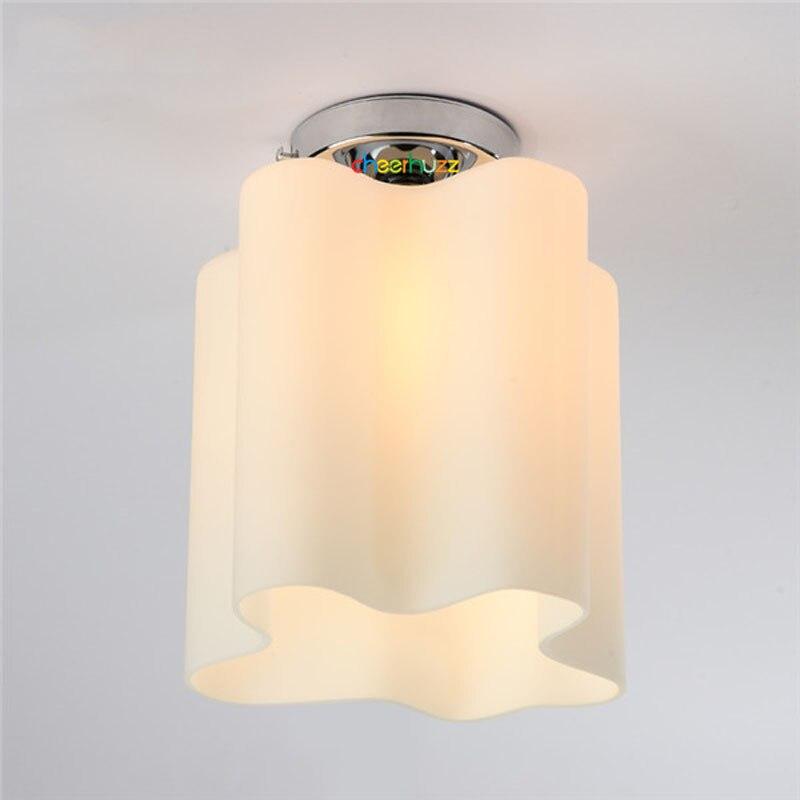Moderne Minimalis Einzelne Licht Glas Deckenleuchte Europäischen Kreative  Wolke Unterputz Lampe Für Kinderzimmer Schlafzimmer CL117 In Moderne  Minimalis ...