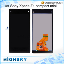 Replacement Parts LCD with Touch Digitizer Assembly For Sony Xperia Z1 Compact M51W Z1 mini D5503 Display + Free Shipping