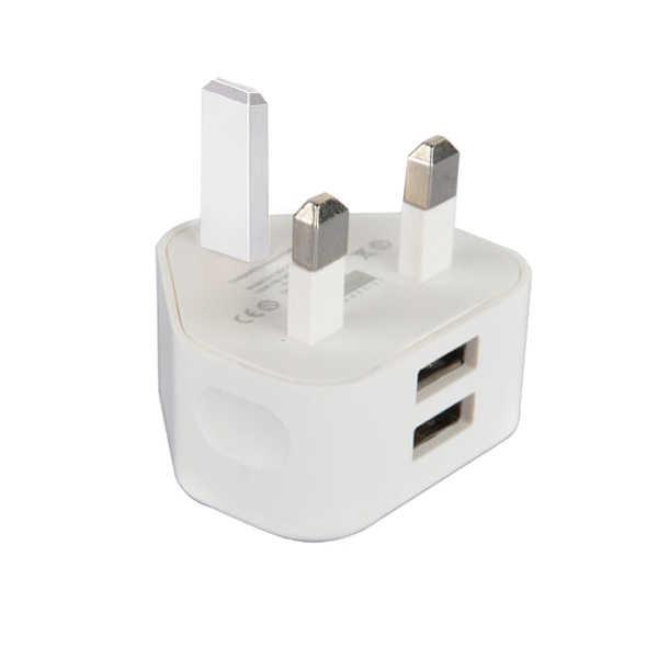 W wielkiej brytanii wtyczka ścienna 3 Pin adapter wtyczki ładowarka z 2/3 porty USB dla iPad tablet z funkcją telefonu DU55