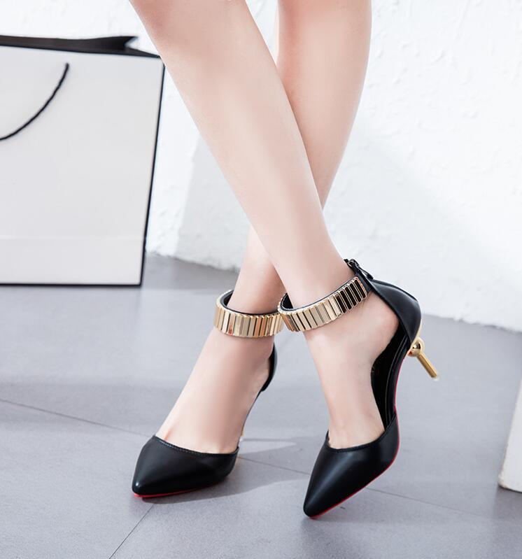 ... mujeres zapatos altos bombas de tacónUSD 27.32-31.40 pair. aaaaa b 7 8  9 11 12 13 14 ... 54167e53b2b8