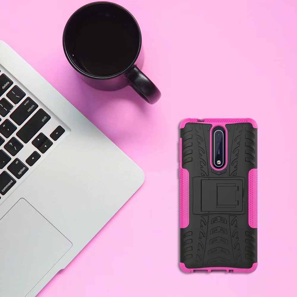Lukisan Lembut Karet Silikon Tpu Bumper Mencakup-Drama Komedi Matte Hard Case untuk Nokia 1 2 3 5 6 8 Pelindung Kembali untuk Nokia 6 2018