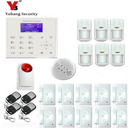 Yobangsecurity Gsm Wifi Wireless Network Wifi Touch Screen