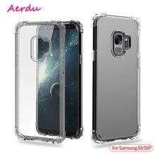 Aerdu Transparent Phone Cases For Samsung S9 Case plus Soft Cover Galaxy Plus wholesale