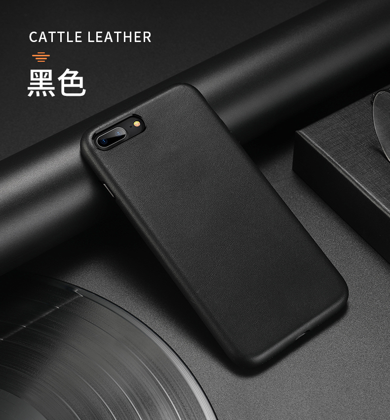 For iphone 7 7 Plus Cattle Leather Case 100% Original Duzhi Brand Genuine Leather Case For iphone 7  8 Shockproof Leather Case