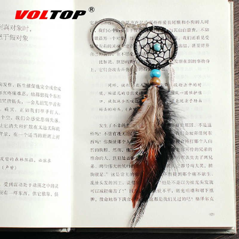 Брелок для ключей Ловец снов Автомобильные украшения Европейский стильный брелок Ловец снов чистый брелок для ключей автомобиля подвеска подвесное украшение