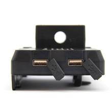 Mobile Phone USB Navigation Bracket Motorcycle USB Charging Mount