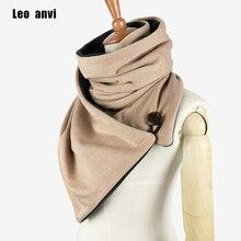 Leo anvi design Winter scarf Fashion Knit Mens infinity Scarf