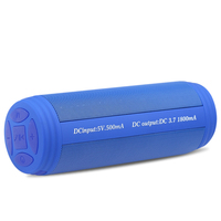 Bluetooth Taşınabilir Hoparlör Kablosuz Bluetooth Hoparlör Bas Stereo Fm Mic ile Sütun İşlevli Hoparlör Usb