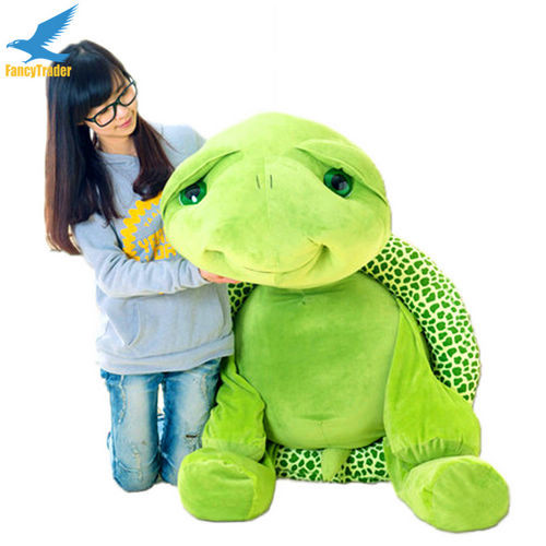 Fancytrader 59\'\' 150cm Lovely Stuffed Soft Giant Tortoise Turtle Toy, Free Shipping FT50059 (2)