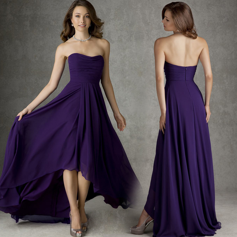 Popular regency purple dress buy cheap regency purple for Plus size purple wedding dress
