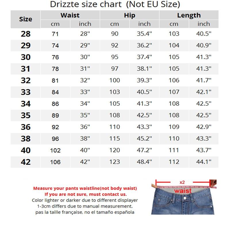 Мужские джинсы Drizzte 30 32 34