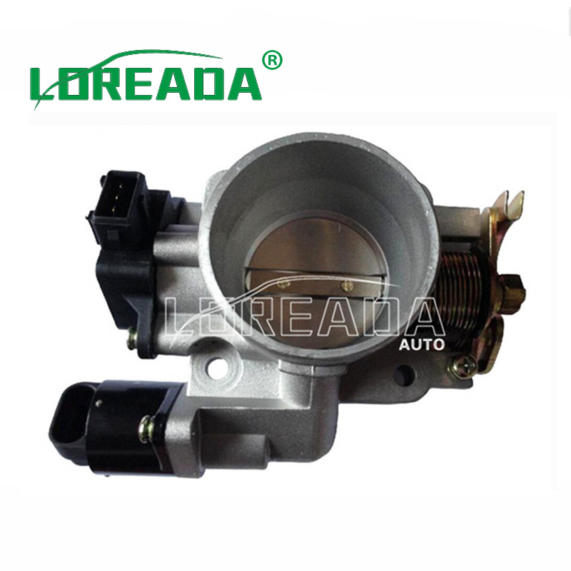 Loreada Mechanical Genuine Throttle body Assembly for Lifan xing shun 1 3L UAES system Engine Bore