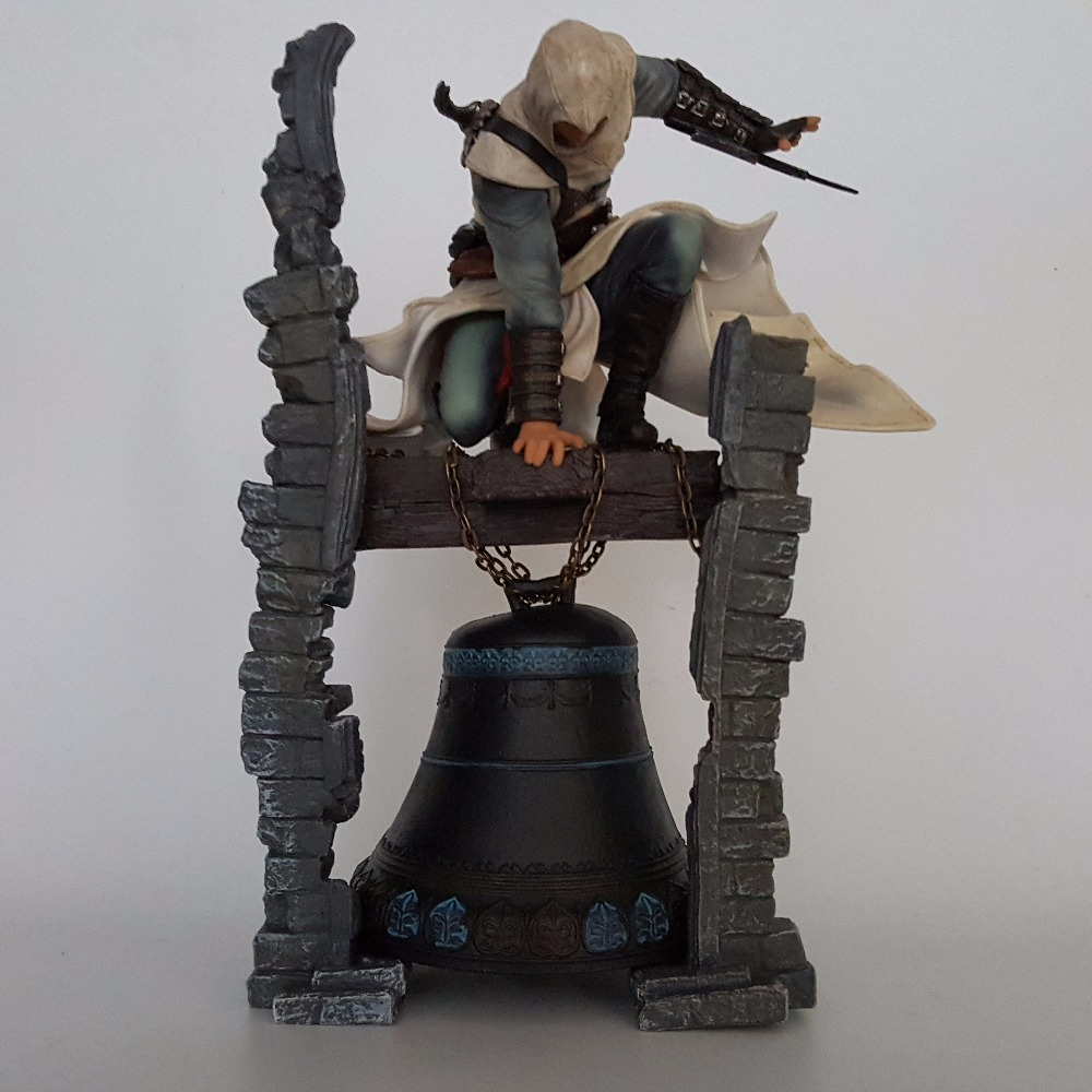 Assassin's Creed Action Figures Edward Altair The Legendary Assassin Bell Tower 280mm Anime Game Collectible Model Toy 2017 new mcfarland altair belfry action figure the legendary assassin american anime resin toys 28cm gift for children