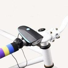 Велосипедный электрический рог велосипед колокольчик 140дб mtb гудок на велосипед сигнализация колокольчик Велосипедный свет Фара электронный звонок Аксессуары для велосипеда