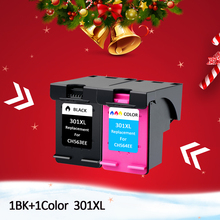 Hisaint 301XL Refill Ink Cartridges Replacement for hp/HP 301 xl HP301 Deskjet 1000 1050 2000 2050 2510 Printer