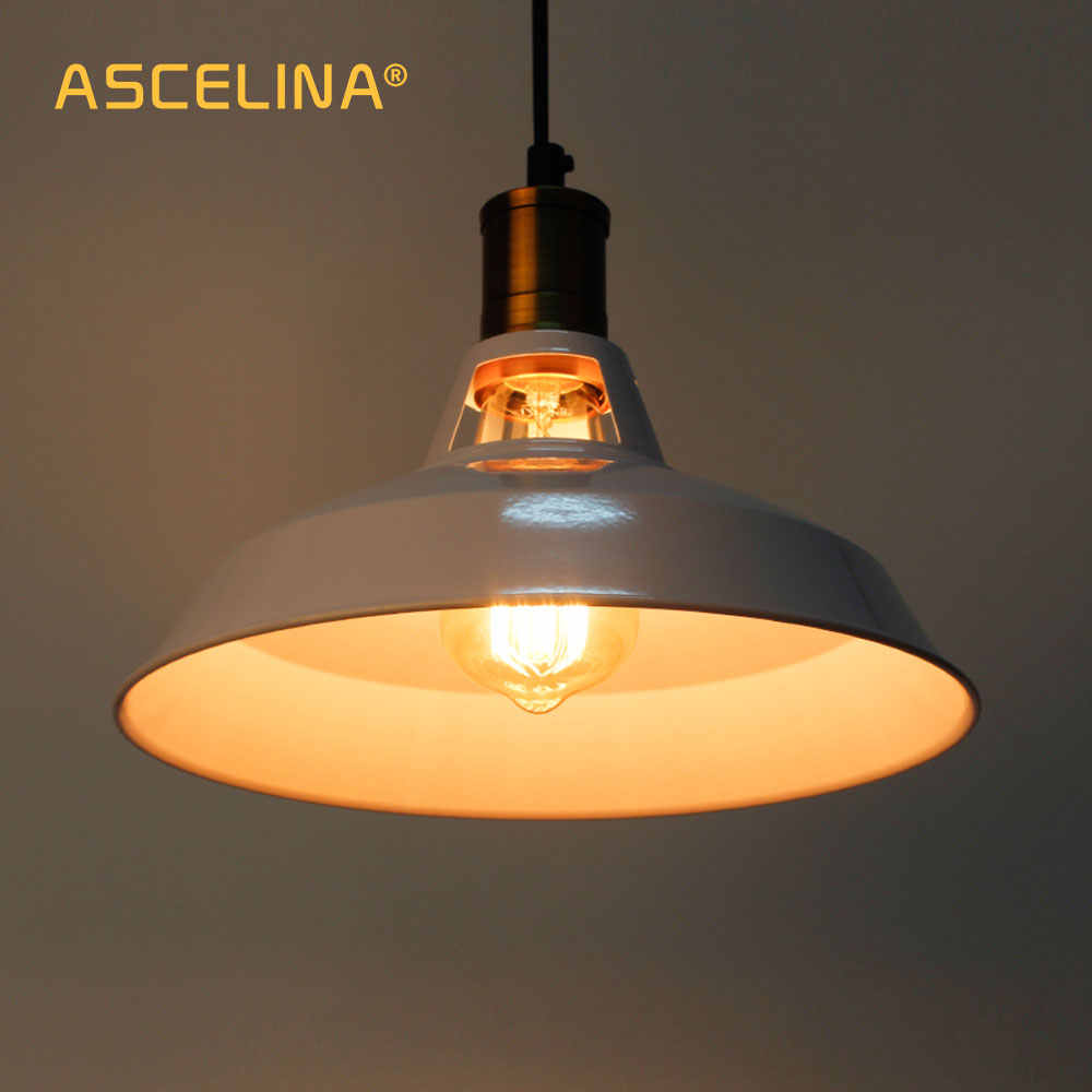 Vintage industrial Pendant Light Led Lamp Loft for Restaurant/Cafe/Bar/Home Especial creative lamp Chain pendant lamp lighting