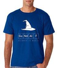 Fashion's Gandalf Science Is Magic – GANDALF'S MAGICAL SCIENCE Premium Men's T-Shirt Print Funny T Shirt