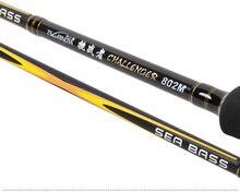 Trulinoya  SEA BASS  2.4 m /2.7 m M tune Spinning Rods straight shank Lure rod Sea bass rod fishing rod