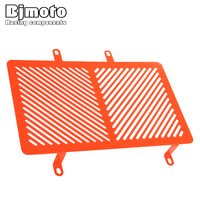 For KTM RC125 RC 200 RC 390 2015 2018 Motorcycle Accessories Radiator Guard Protector Motorbike Cooler Grille Grill Cover