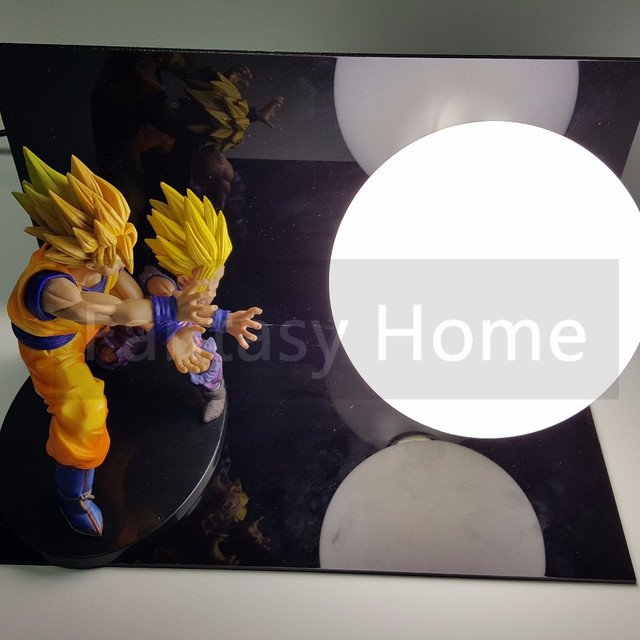 Dragon Ball Z Action Figure Son Goku Gohan Kamehameha DIY Display
