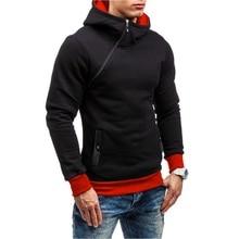 Assassins creed hoodie men Patchwork slim Hooded sweatshirt NEW hip hop zipper black hoodies streetwear moletom justin bieber