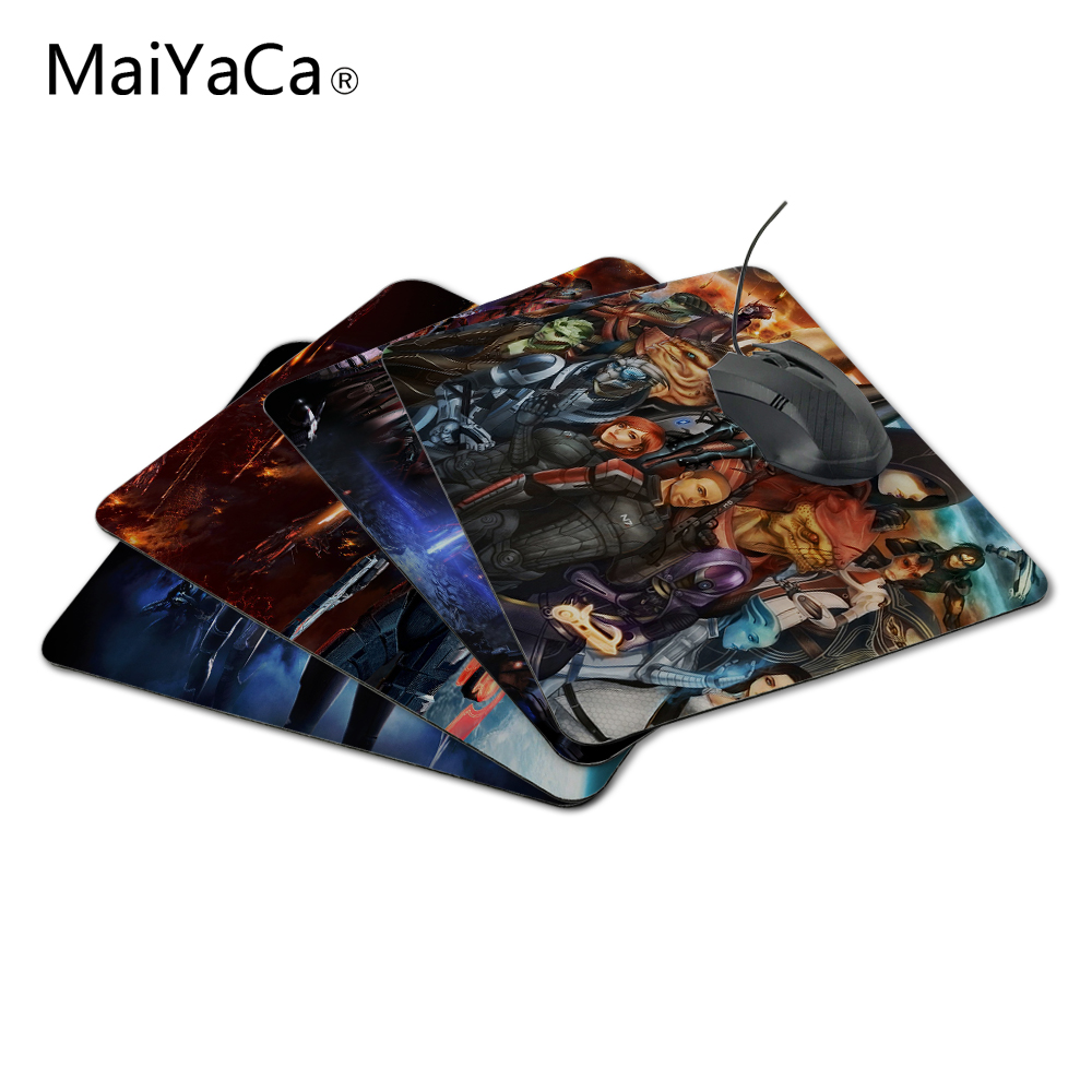 MaiYaCa testreszabott szórakoztató luxus nyomtatás tömeghatás játék Tervezési játék PC csúszásgátló egér mat optikai / trackball egérhez