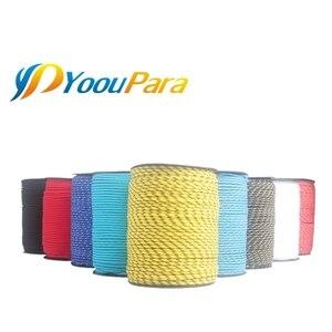 Image 2 - YoouPara 30 Colori Più Cordini di sicurezza 3 millimetri 100M del Cavo Dei Paracadute di Arrampicata Campeggio Corda FAI DA TE Stringa Linea di Vestiti Corda Multifunzionale