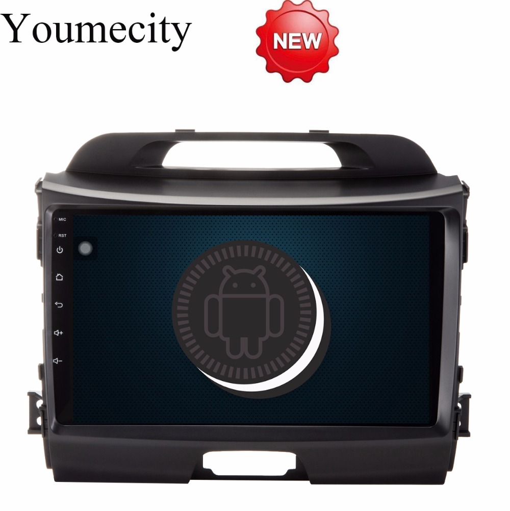 Youmecity Android 8 1 Octa Core Headunit font b Car b font DVD player for KIA