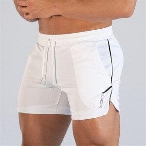 Image 4 - 2019 חדש קיץ זכר כושר פיתוח גוף מותג מכנסיים קצרים רשת לנשימה מהיר ייבוש אופנה מזדמן רצים 4XL shorts ספורט