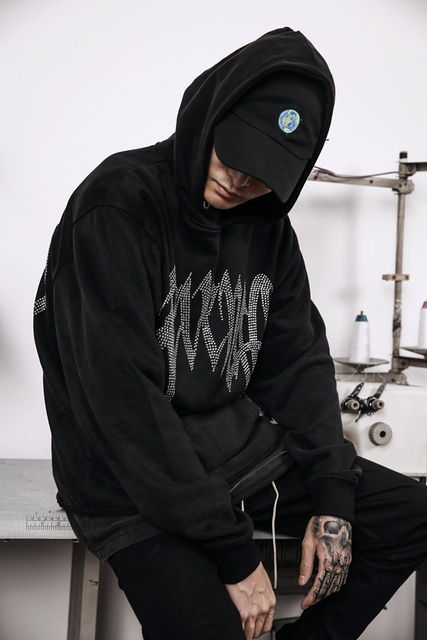 2019SS KANYE WEST OVERSIZE XXXTentacion Revenge Kill MEN Sweat Pullover Hoodies hip hop japan Fashion Casual Sweatshirt M-XL