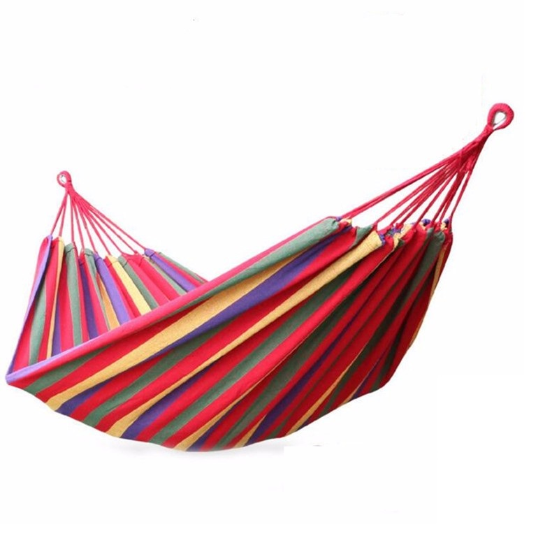 купить 30pcs 190*80cm Portable Hammock Hamac Outdoor Leisure Bed Hanging Bed Sleeping Canvas Swing Hammocks Camping Hunting ZA0941 недорого