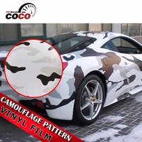 50cm x 152cm Unique Army Military Sticker Camouflage Vinyl Film Wrap Auto Yacht