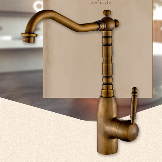 Modern Open Spout Water Tap Bathroom Vessel Sink Faucet European ...