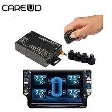 car TPMS for dvd 4 external sensors PSI/BAR english language diagnostic tool tires pressure tpms car diagnostic tpms