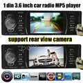 """НОВЫЙ 3.6 """"TFT HD Цифровой Автомобиль радио Стерео FM MP3 MP4 MP5 автомобиль Аудио Медиа-Плееры ж/USB/SD/MMC, Порт видео Автомобиля 1 din в Тире"""