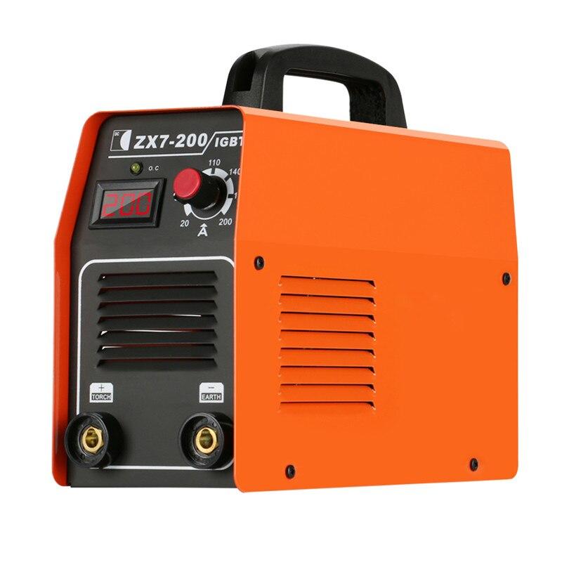 220 В портативный бытовой дуговой сварочный инвертор высококачественный, карманный мини Электрический дуговой сварочный инвертор машина ин