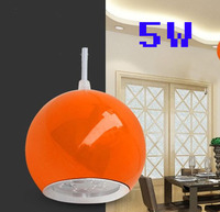 AC90-260V 5 Вт Морден светодиодный Потолочный подвесной светильник для Обеденная