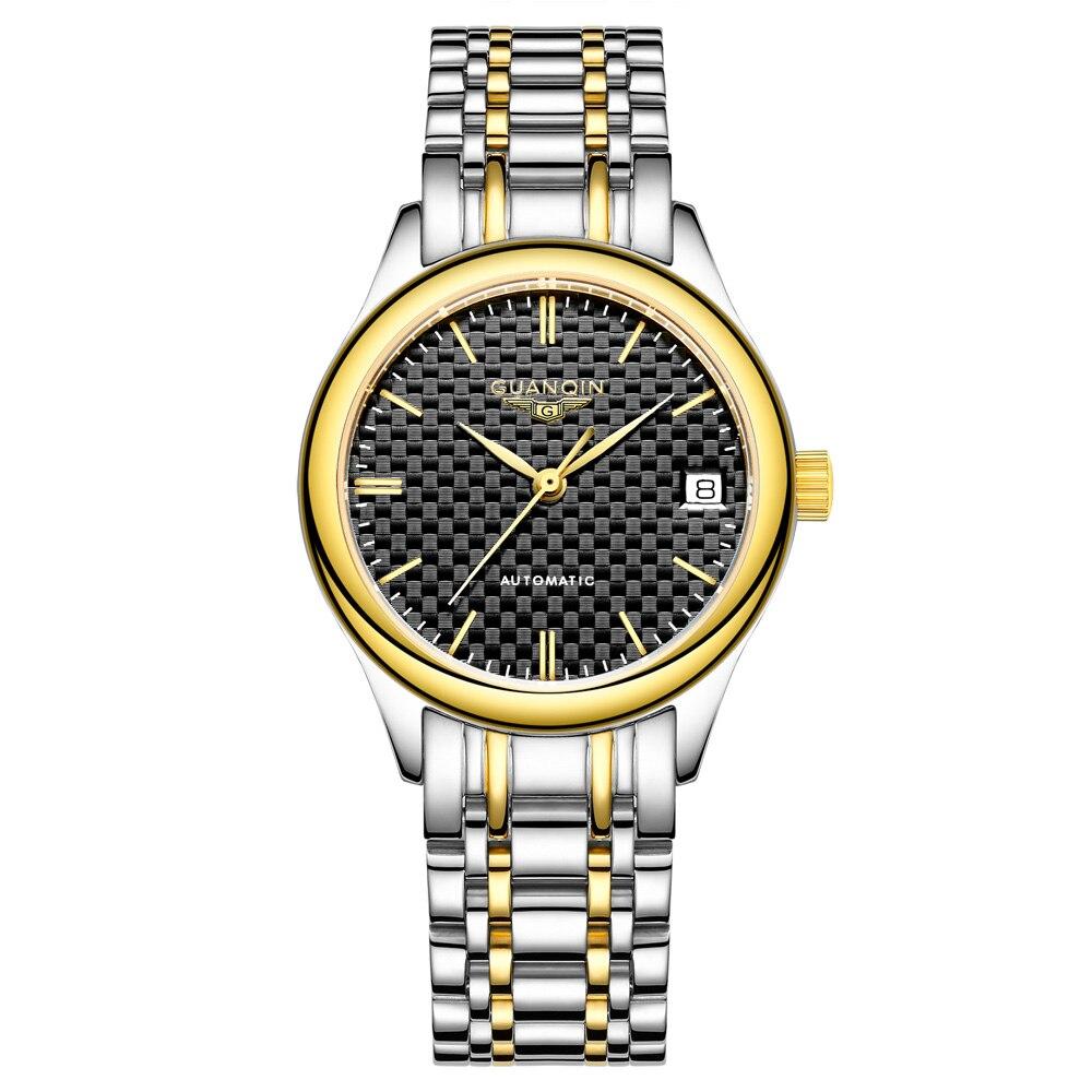 GUANQIN GJ18004 montre femme automatique creux petit cadran saphir mécanique en acier inoxydable Quartz montres pour femme