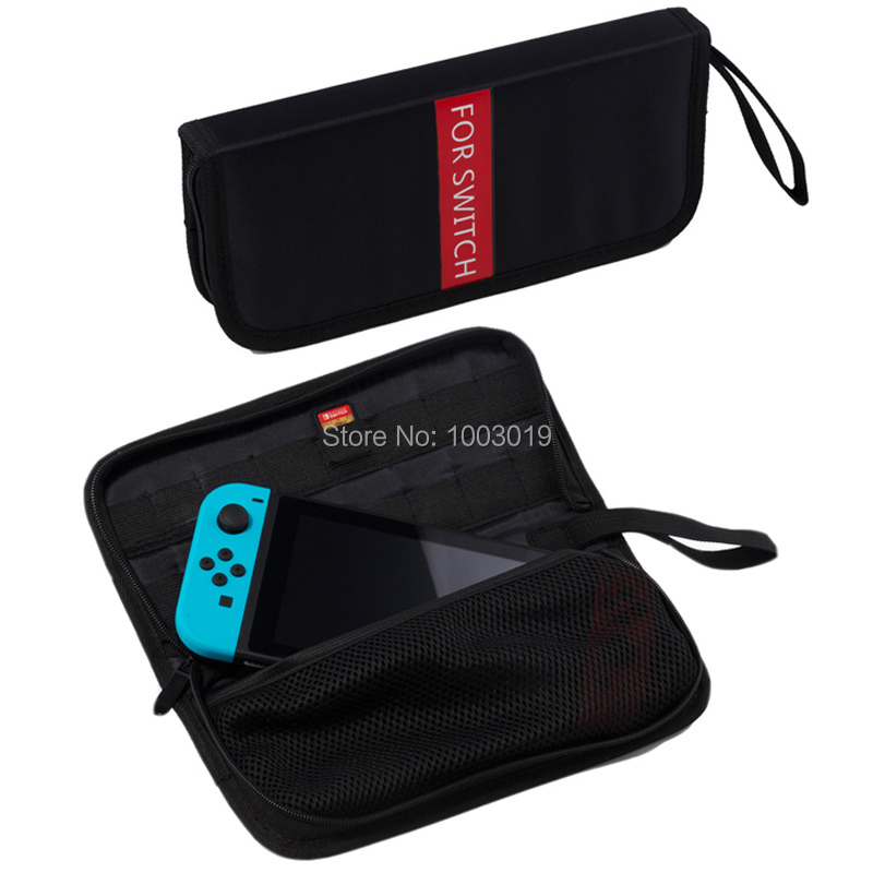 Hard Protective Durable Travel Carrying Bag Pouch Case With 16 Game Holder For Nintend Switch NS Console Handbag With Hand Strap