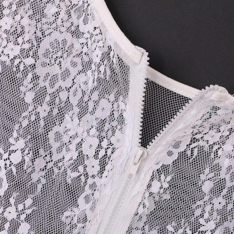 HTB1PobzNpXXXXXhaFXXq6xXFXXXC - Women Sexy Hollow Short Sleeve Lace Crop Top Shirt