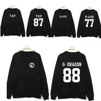 K pop kpop ropa Bigbang big bang GD perifrica ronda cuello Coreano pareja suelta sudadera exo kpop hoodiebig bang kpop noticias