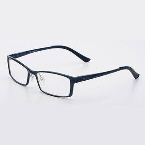 Image 4 - Reven jate b2037 óculos ópticos quadro para homem e mulher óculos de prescrição rx liga quadro óculos aro completo