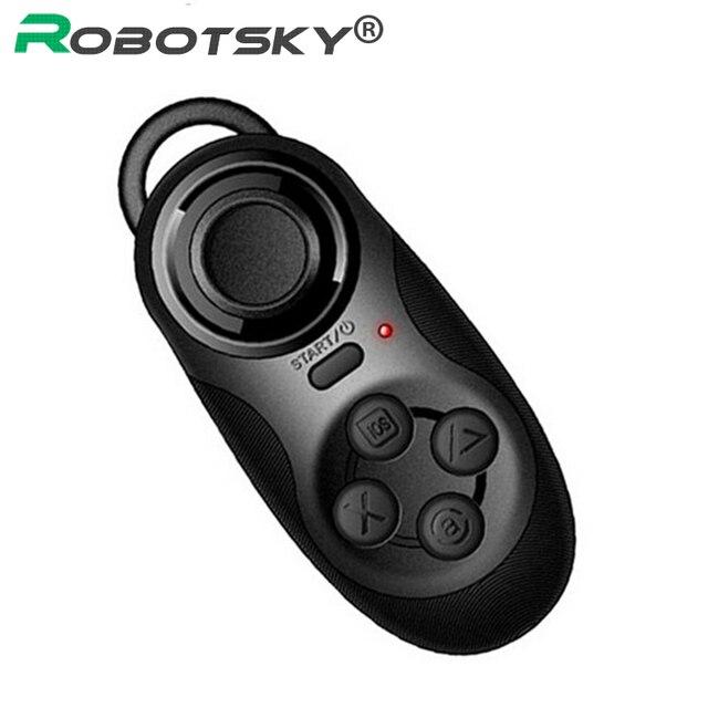 Беспроводной bluetooth контроллер 4 в 1, дистанционный затвор, геймпад для сотовых телефонов, планшетов, мини ПК, ноутбуков, ТВ приставок, для Android / iOS