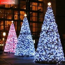 Christmas tree Led String lights EU/US plug waterproof 20-100M 200-800Leds AC220V/110V for Party Garden Holiday Home Decor UR