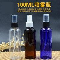 Ince Sis Püskürtücü ile 100 ml Plastik Sprey Şişeleri doldurulabilir kozmetik şişe