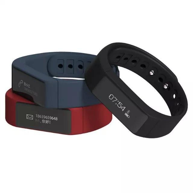 New Updated I5plus smart watch 0 91 OLED touch screen smartband gesture control TPU font b
