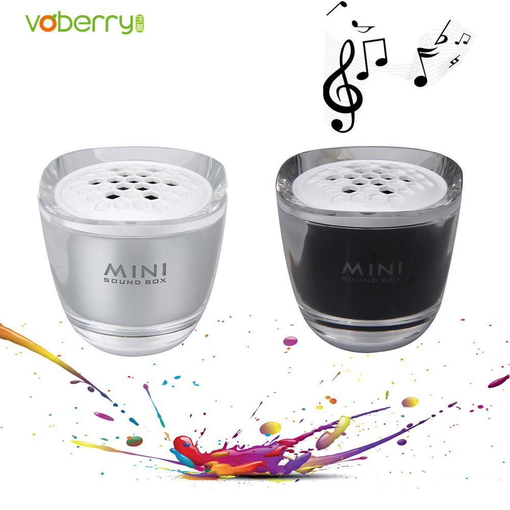 VOBERRY Mini Portable Bluetooth Wireless Super Bass Stereo Speaker MP3 Music Subwoofer Speakers For IOS Android