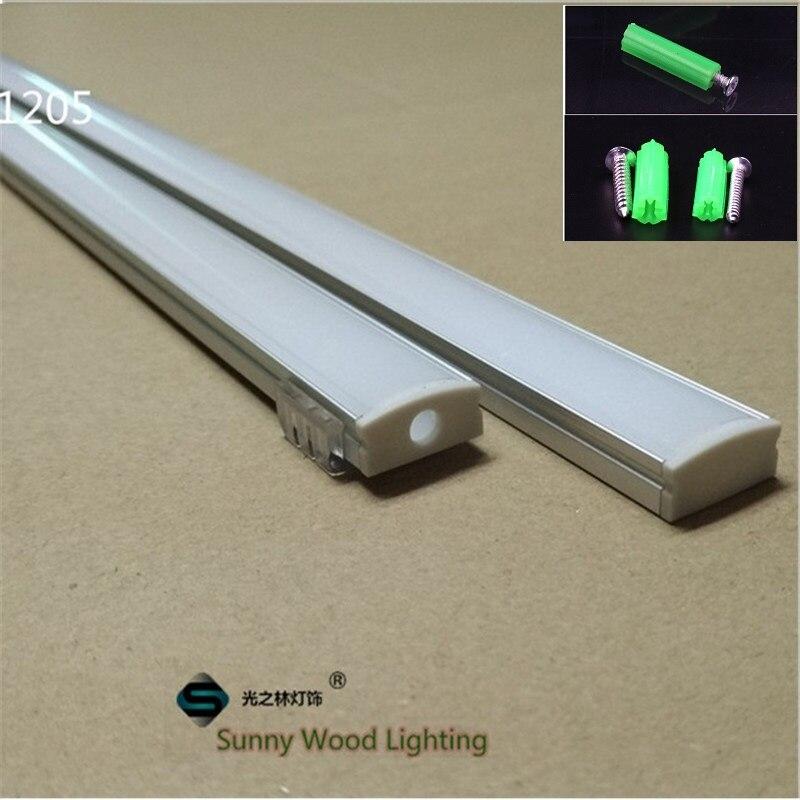 5 30set lot 12mm strip led aluminium profile for led bar light led aluminum channel LED