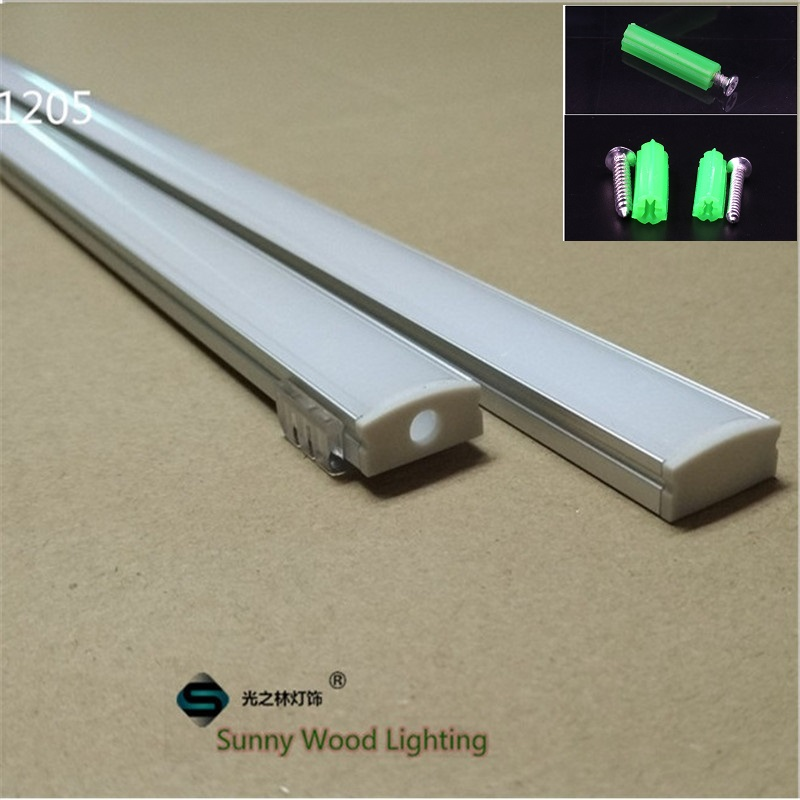 5-30set/lot 12mm strip led aluminium profile for led bar light, led aluminum channel, LED Strip /tape aluminum housing